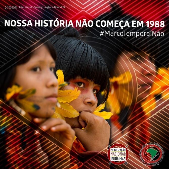 NOSSA HISTÓRIA NÃO COMEÇA EM 1988 #MARCOTEMPORALNÃO #NOSSODIREITOÉORIGINÁRIO