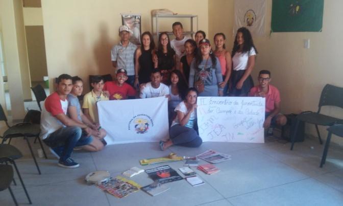 II Encontro da Juventude do Campo e da Cidade é realizado por militantes da PJR-PB.