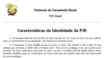 Caracteristica da PJR