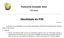 Identiddade da PJR